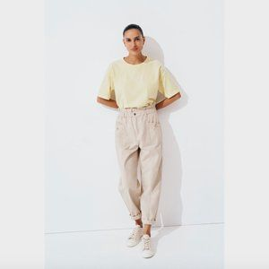 Seed Heritage Yellow Vintage Wash T-Shirt S
